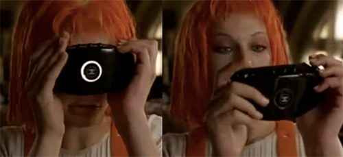 The Fifth Element - Leeloo and her Chanel make-up