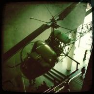 New York - Il y a même un hélicoptère au MoMA
