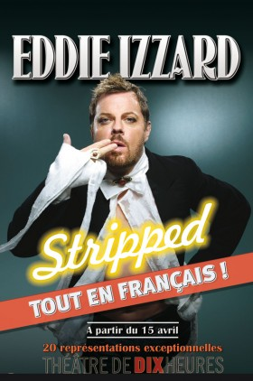 Eddie Izzard en France !!!